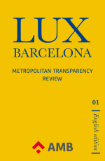 Cover of Lux Barcelona, No. 1 (English edition)